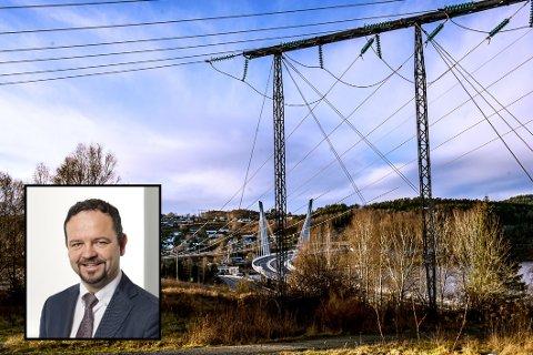 KLARHET: Administrerende direktør i det som inntil februar heter Skagerak Nett, Øivind Askvik, tror navnebyttet kan gjøre det enklere for kundene å skille strømprodusent og nettselskap.