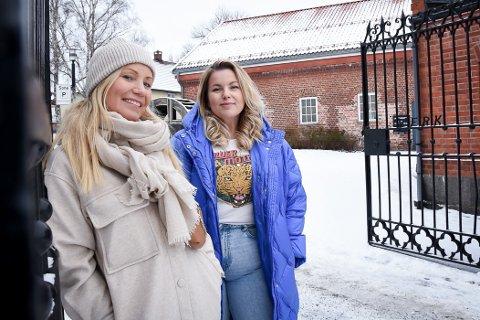 VELGER LARVIK: Guro Ringheim Bakke (t.h.) og Ellen-Cathrine Østli flytter snart inn i kontorlokaler i Verksgården.