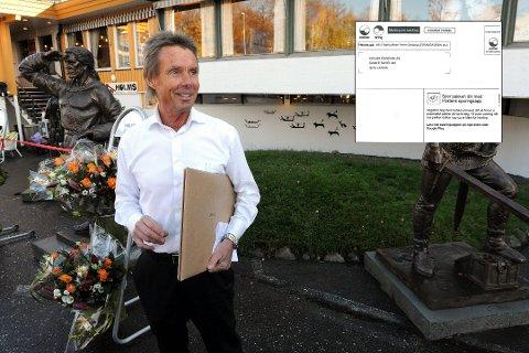 REAGERTE: Matre reagerte da han mottok en mystisk hentemelding fra Posten.