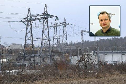 VANSKELIG: Det skal mye regn til for å fylle vannmagasinene før vinteren, sier Andreas Billington i Skagerak Kraft.