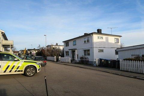 ÅSTED: Drapet ble begått i offerets leilighet i Lindgaards gate i februar i fjor.
