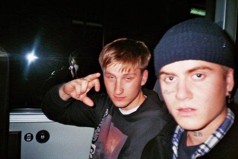 GODE VENNER: De to klassekameratene Torbjørn Celius (19) og Marcel Dinardi (19) fant tonen gjennom musikken.