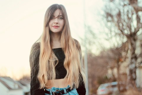 UBEHAGELIG: Elise Amanda forteller om sin ubehagelige opplevelse i håp om at det kan få folk til å tenke seg om.