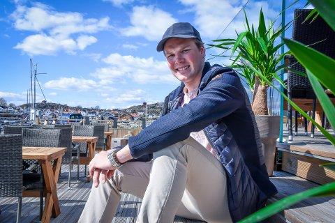 FLYTTET HJEM: Ludvig Vatne har fått ny jobb i hjembyen.