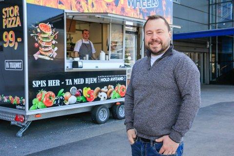 HOT START: Enei Sulgin og Hot Wheels Pizza fortsetter å ekspandere. – Forhåpentligvis i løpet av sommeren, sier han og peker på Larvik som et alternativ.
