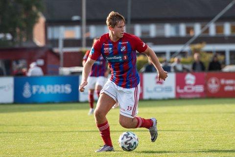 Tilbake: Adrian Bergersen var på lån hos Fram fra Viking i fjor, og nå har han signert en toårskontrakt med larviksklubben.