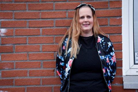 VIL HJELPE: Christina Aares Moe var en av de første smittesporerne i Larvik kommune.