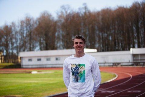 NÆR: Andreas Ofstad Kulseng løp for EM-plass sist helg, og visste at han var aktuell for stafett. Den sjansen glapp da en annen utøver er  skadet. (Foto: Privat)