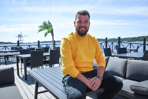 ÅPNER: Utelivsgründer Andreas Larsen realiserer en stor drøm når restauranten hans snart åpner.