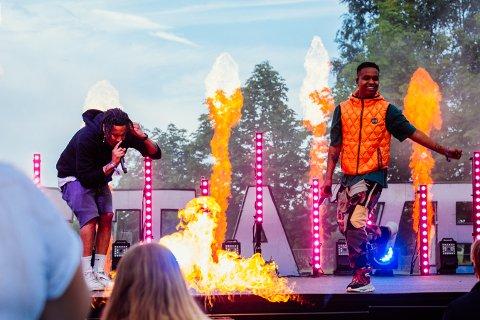 FESTIVALKLARE: Hip-hop-duoen Isah & Dutty Dior er blant det første som er klare for Stavernfestivalen 2022.