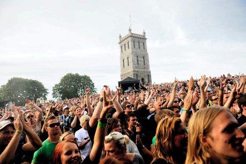 BLANDEDE FØLELSER: Det er blandede følelser knyttet til flyttingen av Slottsfjellfestivalen.