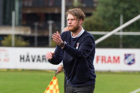 FIRE AV SEKS: Fredrik Eliassen fra Larvik og Nardo har tatt fire av seks poeng mot Fram denne sesongen.
