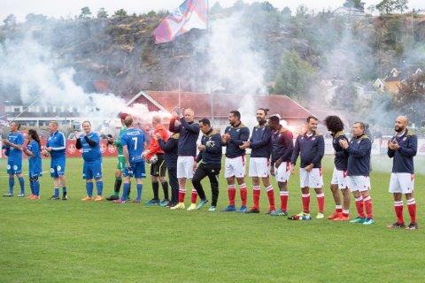 """""""CHAMPIONS LEAGUE"""": Det var god atmosfære på tribunene og gressbanen da gatelagene til Fram og Notodden spilte i Framparken lørdag ettermiddag."""