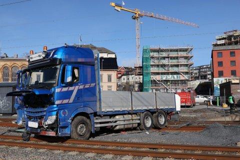 TAR IKKE KOSTNADEN: Bane NOR varsler at de ikke tar kostandene ved reparasjonene på jernbanen.