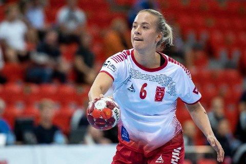 SURT: Emma Skinnehaugen synes det er ekstra surt å tape for gamle lagvenninner. Søndag kveld måtte hun innse at Oppsal, hvor hun spilte i fire sesonger, slo Larvik 27-20 i hovedstaden.