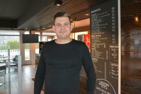 STENGT: Daglig leder Atle Dreyer Isaksen så ingen annen utvei enn å melde oppbud for Bergbys-restauranten.