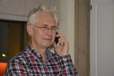 TALER: Ordfører Erik Sletten (Sp) skal tale under markeringen.