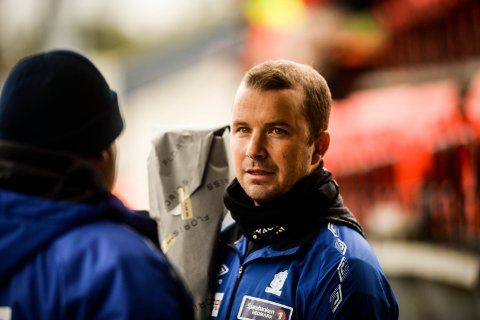 TØFT ØKONOMISK: Nybergsund IL Trysils styreleder Lars Blixt, sier hovedfokus for 2018 er grep om den økonomiske styringen i idrettslaget.