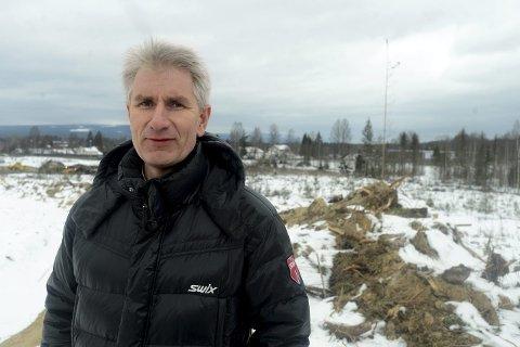 OVERRASKET:  Daglig leder i Elverum Vekst, Odd-Erling Lange sier Martin Løkens utspill om Ydalir stemmer dårlig overens med det han har sagt om bydelen tidligere.