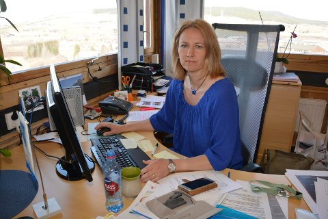 LUFTER INTERESSE: Ordfører Merete Myhre Moen i Tynset kommune lufter interessen om et regionalt badeanlegg.
