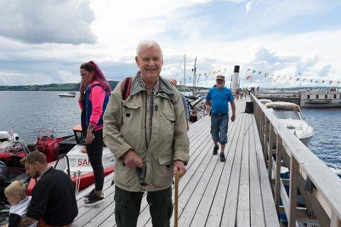 HUSKER ALT: Hallvard Johansen husker fortsatt Skibladner-turen fra 1938.