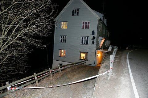 Det var her den 54 år gamle kvinnen ble funnet død i sin leilighet på Flisa i Hedmark i påsken i fjor.