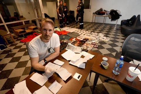 ETTERFORSKER: Politiførstebetjent ved Lørenskog lensmannskontor, Per Sørheim. Foto: Vidar Sandnes