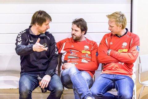 Jonas Wille (fv), Tom-Eirik Skarpsno og Håvard Mamelund. Foto: Hans Petter Wille