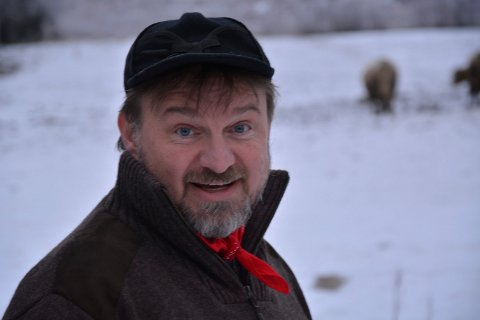 NOMINERT: Farmen-vinner Halvor Sveen kjemper mot sju andre om å bli Årets bygdeprofil.