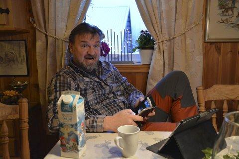LOVER FEST: Når hytta han vant i Farmen står ferdig, lover Halvor Sveen at det blir en heidundranes fest.