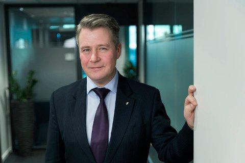 INGEN PENGELØFTER: Justis- og beredskapsminister Per-Willy Amundsen (Frp) har sympati og forståelse for dem som opplever barnebortføring, men kan ikke love utvidet økonomisk hjelp. (Foto: Olav Heggø, Fotovisjon/Justis- og beredskapsdepartementet)