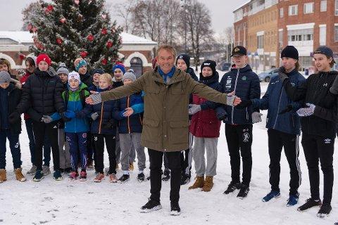 TIL HAMAR: Mestenes Mester kommer til Hamar Dag Erik Pedersen tar med seg åtte idrettslegender for et historisk oppgjør på Stortorget i januar.