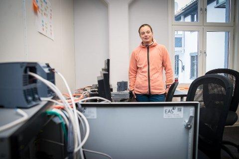 KAN VINNE: Siv Hilde Houmb kan bli «Female Entrepreneur  2017».