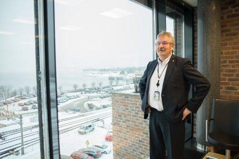 REKORD: Administrerende direktør, Richard Heiberg, leverer for første gang et overskudd på over en millard kroner.