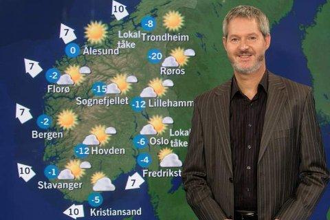 Statsmeteorolog John Smits melder godt vær til helga. (Foto: Birken)