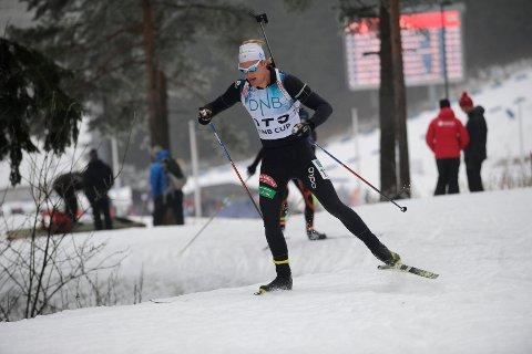 Tore Leren, Vingelen IL. NM skiskyting normaldistanse junior og senior i Holmenkollen 28.01.2017