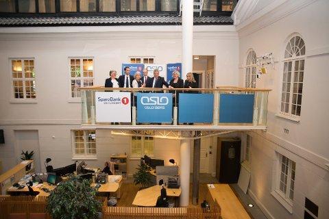 INNE: Sparenbank 1 Østlandet satte preg på Oslo Børs.