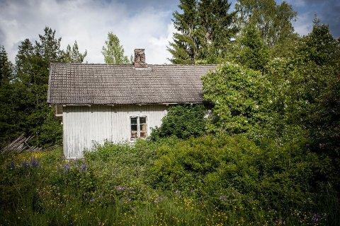 VIL IKKE SKREMME NOEN: Dagens eier, Ingar Ottosen, nøyer seg med å ta bilder utendørs på eiendommen. Å ta bilder inne vil være å skremme folk fra å kjøpe, sier han.