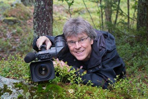 INN FRA NATUREN: Under Ljørdalsdaga i helga vil NRKs Trond Berg fortelle om gledene turene i naturen har gitt ham. (Foto: NRK)