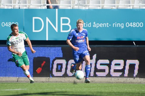 TIL ELVERUM: Kristian Eriksen (til høyre) er klar for Elverum. 22-åringen har en fortid i HamKam og Brumunddal.