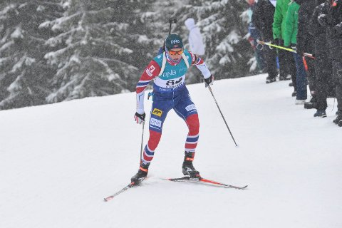 Vegard Bjørn Gjermundshaug, sesongstart skiskyting på Sjusjøen 18.11.2017.