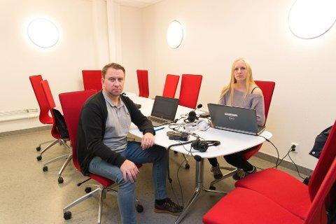 LAGER PODKAST: Jan Morten Frengstad i Østlendingen og Jeanette Sandbæk Håland i Ringsaker Blad lager podkast om Janne-saken.