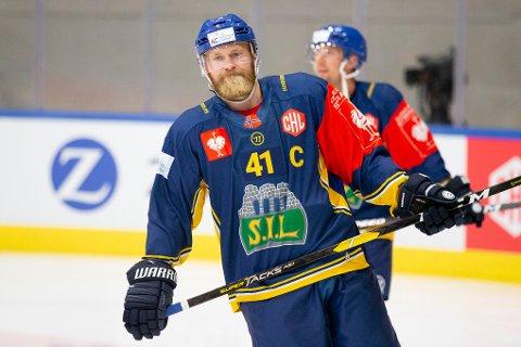 VIKTIG: Storhamars kaptein Patrick Thoresen ble nok en gang en viktig spiller da Storhamar for annen gang utklasset Frisk Asker.