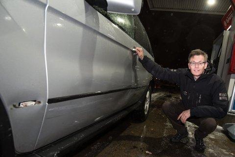 KONKRET TIPS: Politiet skal ha fått et konkret tips om en bil som har skader forenlig med påkjørselen av Audun Bollerud og hans bil. Foto: Vidar Sandnes