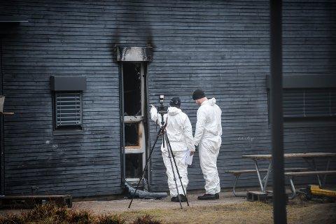 LANSERER HOVEDTEORI: Politiet i Elverum har nå gått ut med sin hovedteori etter barnehagebrannen i Elverum. De mener brannen er påsatt og at den er påsatt med flere arnesteder.