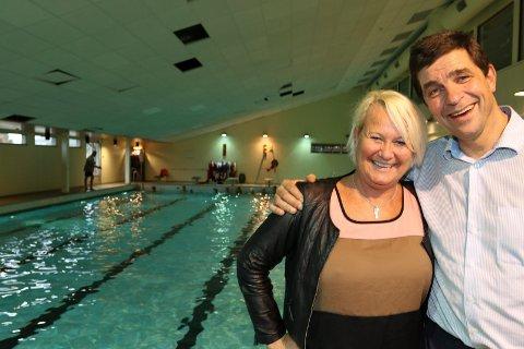 TOPPER: Lene Jenssen vant sølv på 100 fri i VM i Vest-Berlin i 1978. Gunnar Gundersen var blant Nordens beste svømmere på flere etapper.