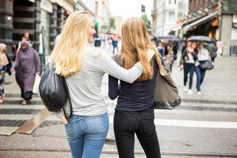 Storbyenes vekst skyldes blant annet at unge flytter til byene for å studere eller jobbe, ifølge en ny undersøkelse. Foto: Thomas Brun, NTB scanpix/ANB