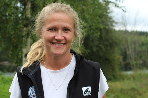 SPENT: Informasjonsansvarlig i Birken AS, Randi Bolstad, er spent på om løpet kan arrangeres som planlagt. Både ritt og renn måtte avlyses som følge av korona-pandemien.