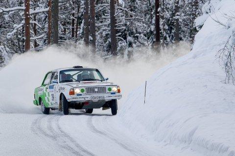 LOKALKJENT: Det er aldri en ulempe å kunne veiene ekstra godt. Ole Morten Korsmo har kjørt Rally Finnskog i en mannsalder med samme bil, og i 2018 kjørte han inn til en god andreplass i nasjonale klasser for tohjulsdrevne biler.
