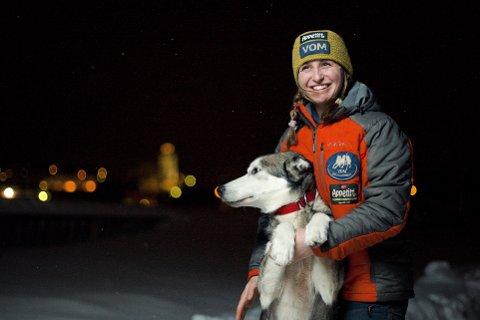GLØD: Både Glød og Nina Wivesoll Vollen gløder før start i deres andre Femundløp.
